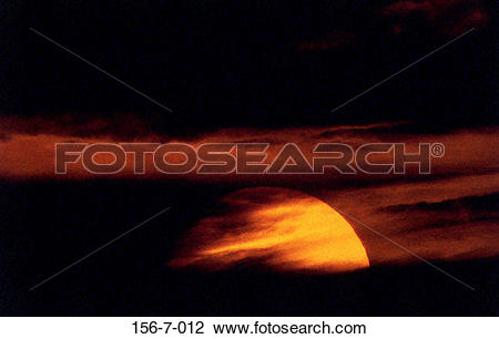Stock Photo of Dawn, Summer, RA, Heat, Atmosphere, Daybreak 156.