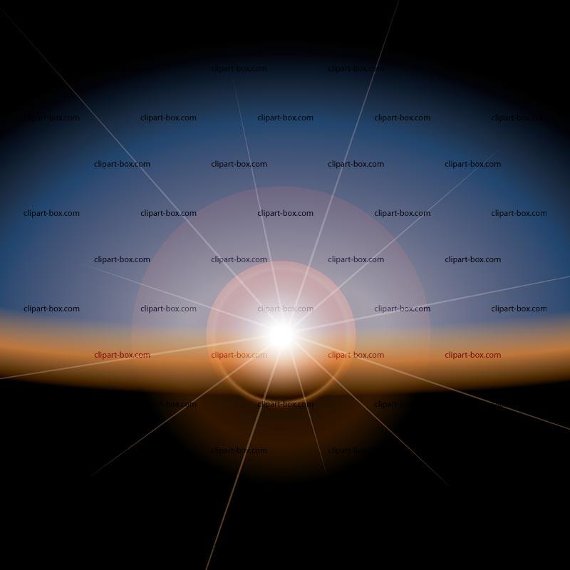 CLIPART SUNRISE.