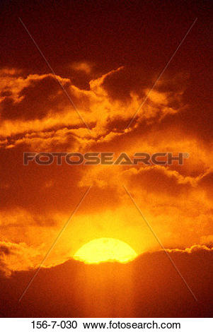 Stock Photography of rising, Heaven, Background, Sun, Skies.