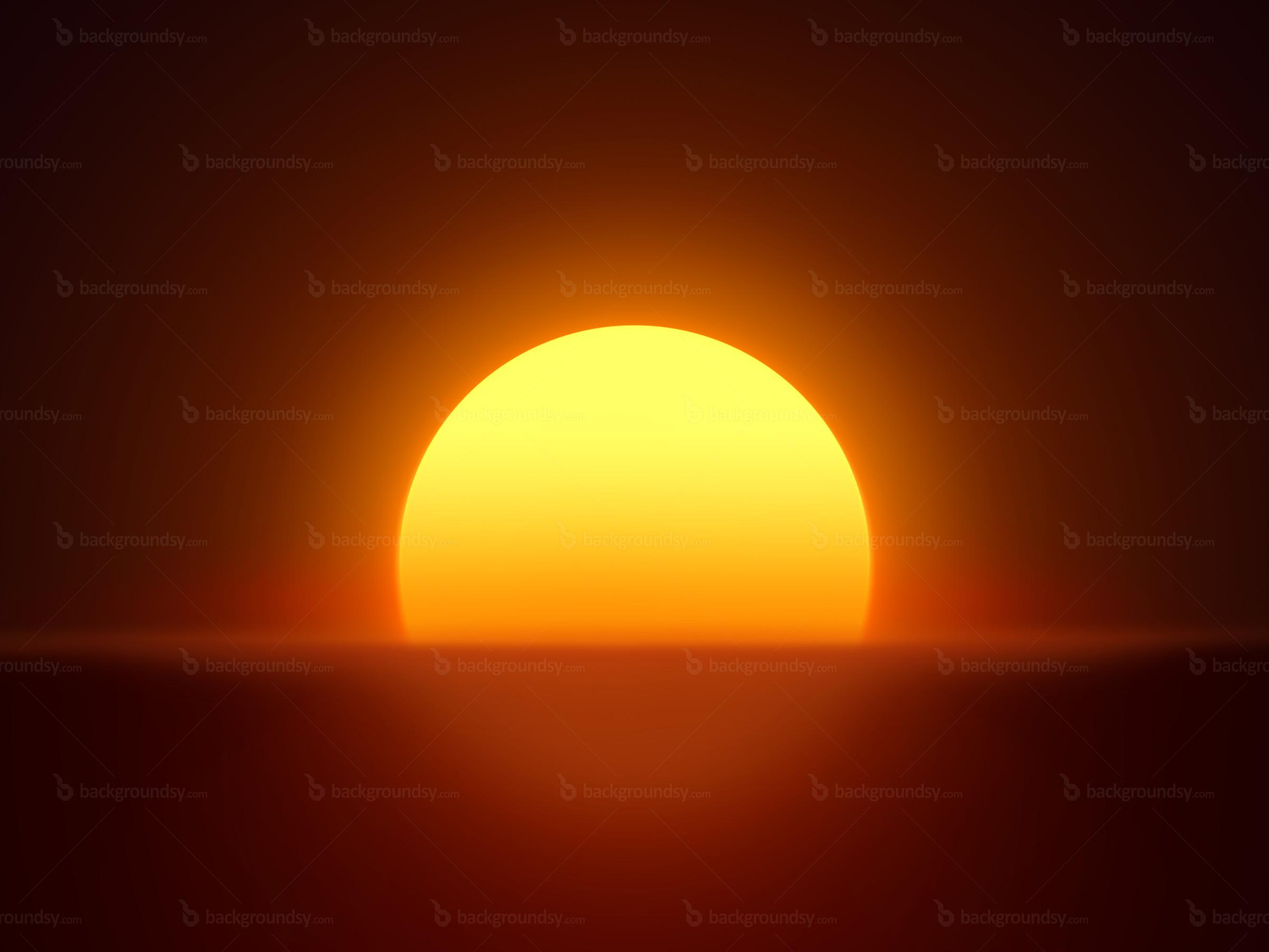 Sunrise Background Clipart.