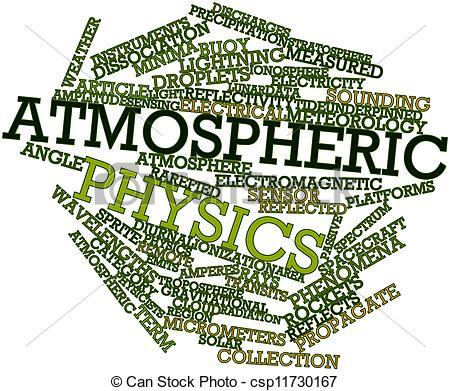 Stock Illustration of Atmospheric physics.