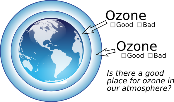 The earth's atmosphere clipart #7