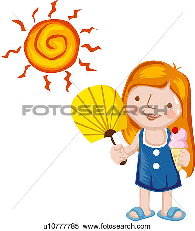 Clipart of changing, elements, atmospheric conditions, circulation.