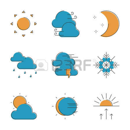 115 Atmospheric Precipitation Stock Vector Illustration And.
