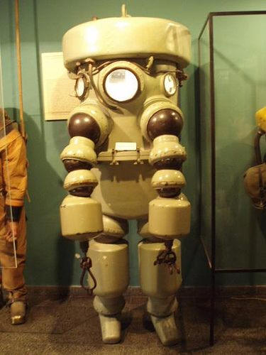 Atmospheric Diving Suits.