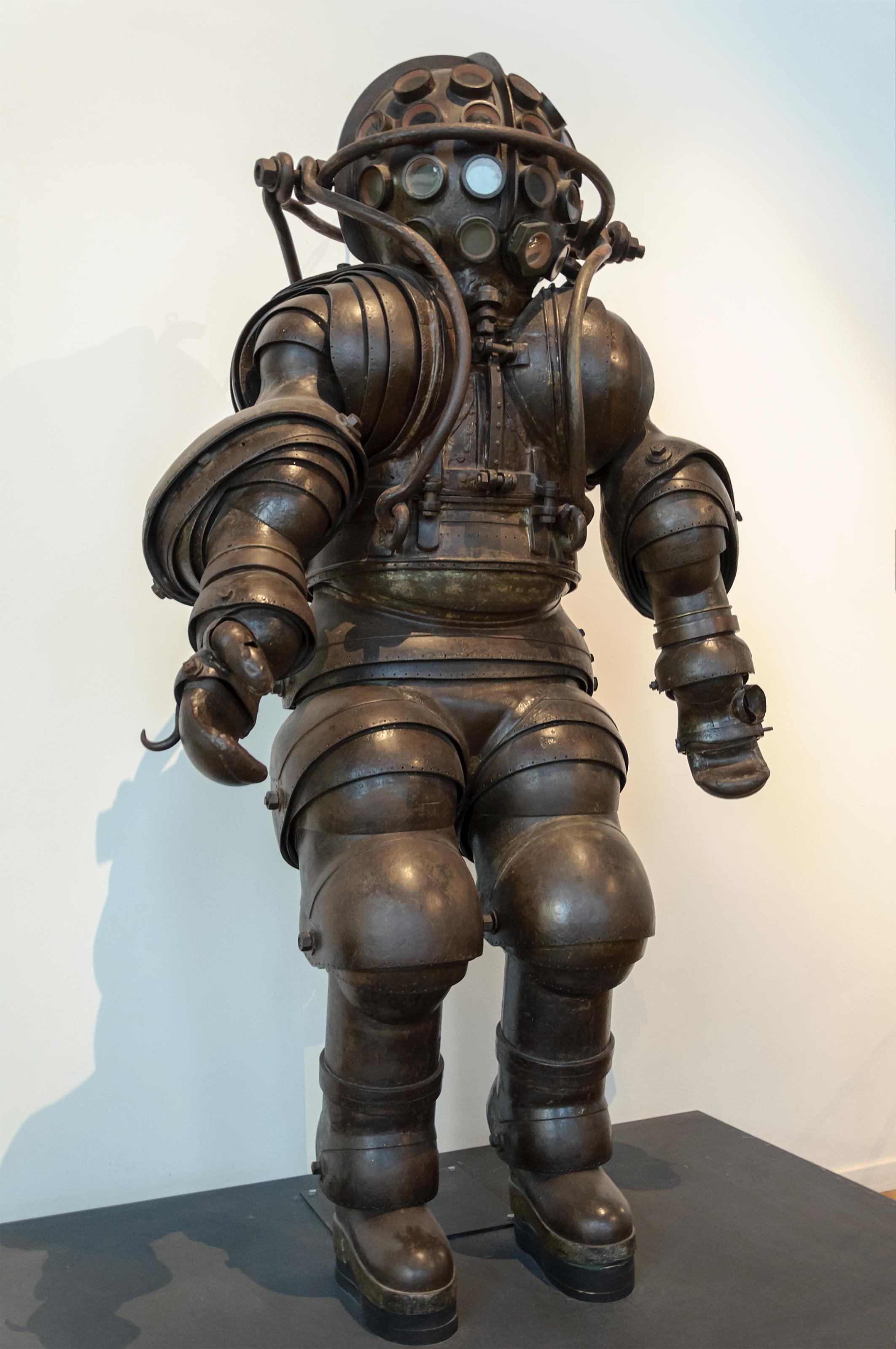 Diving suit.