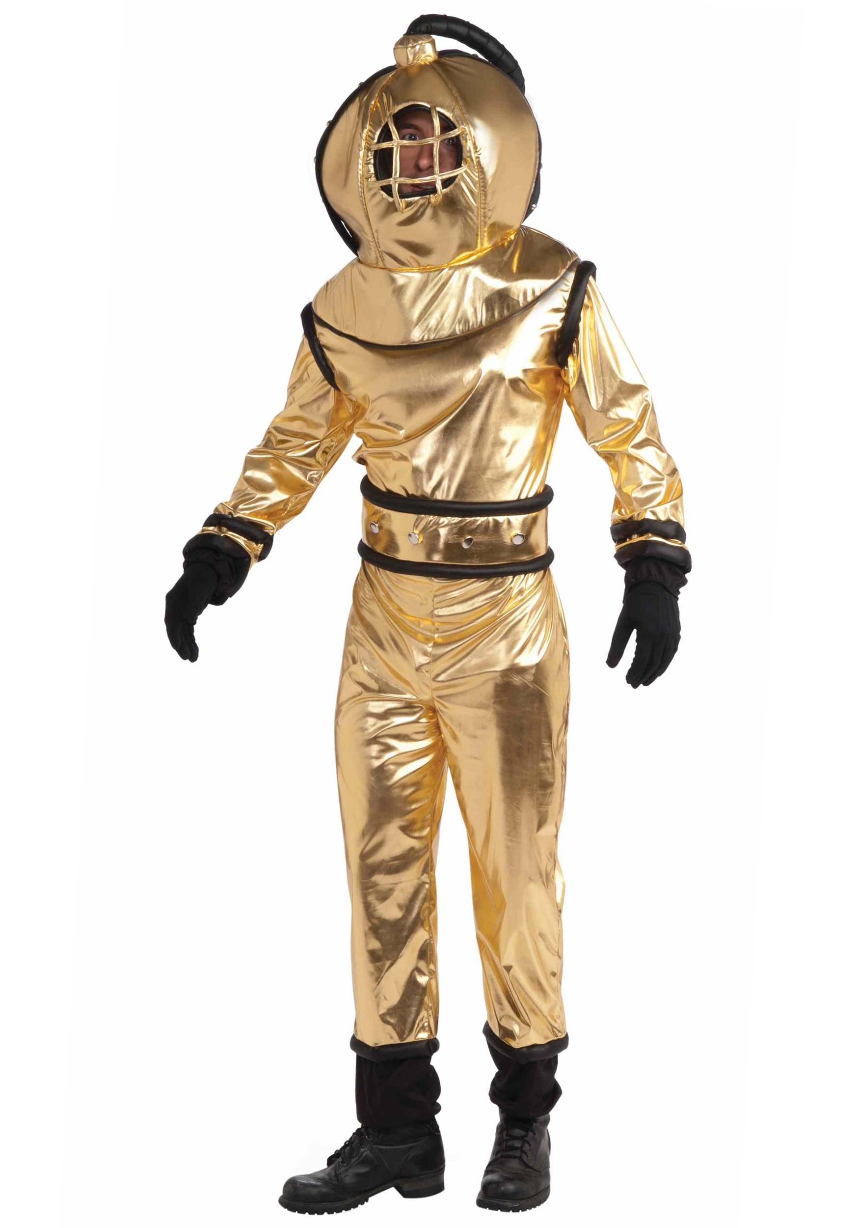 Vintage Deep Sea Diving Suit.