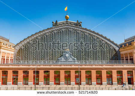 Atocha Stock Photos, Royalty.