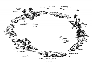 Atoll clipart #13