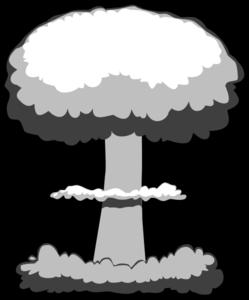 Clip Art Atomic Bomb.