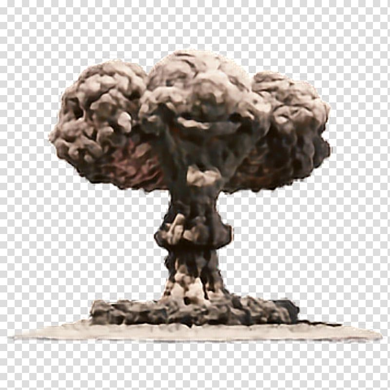 Exploding smoke illustration, Nuclear explosion Nuclear.