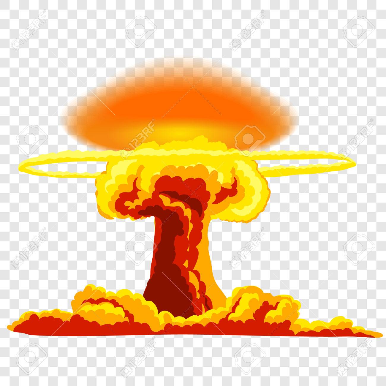 atom bomb clipart no background #10