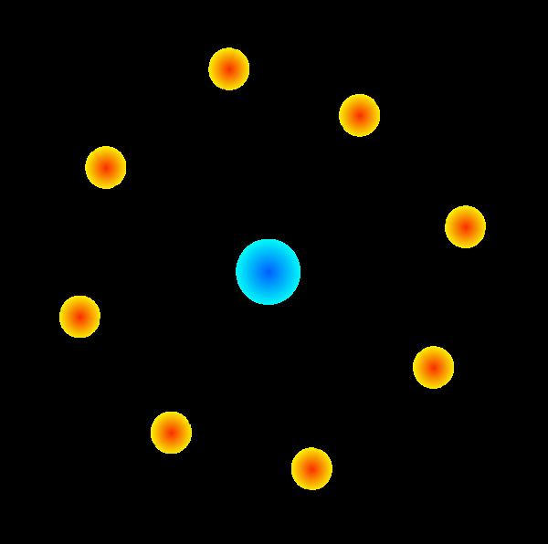 Atom Science Atom Clipart.