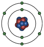 Model Of Oxygen.