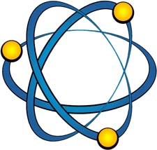 Atomic clipart.