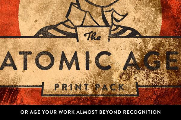 The Atomic Age Print Kit.