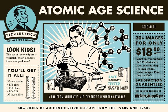 Atomic Age Science.