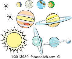 Atomic age Clipart and Illustration. 64 atomic age clip art vector.