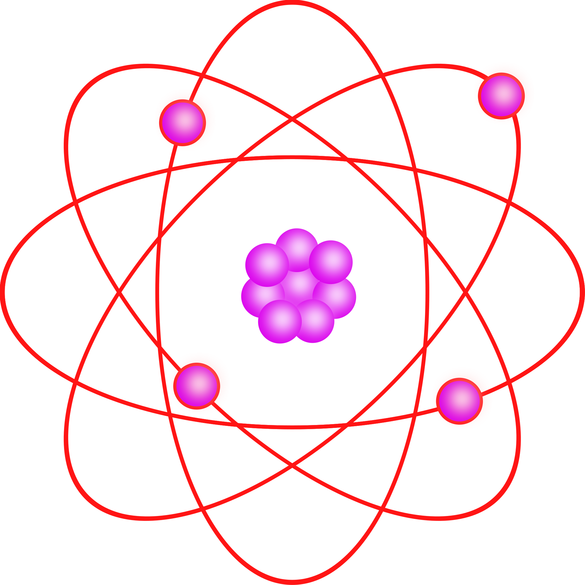 Atomic Symbol Complimentary In Evolution Photo Editor clipart free image.