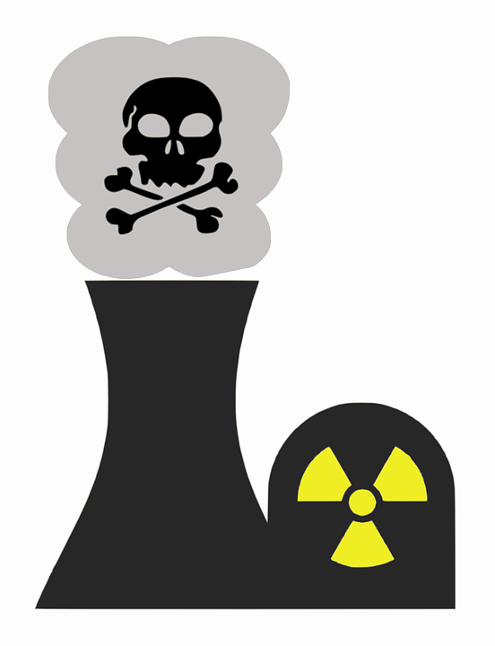 Free vector graphic: Atomic Energy, Nuclear Energy.