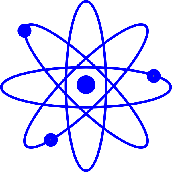 Free clipart atomic symbol.