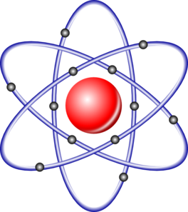 Atomic nucleus clipart #1