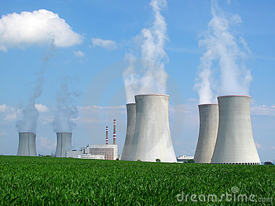 Nuclear Power Plant Stock Photos.