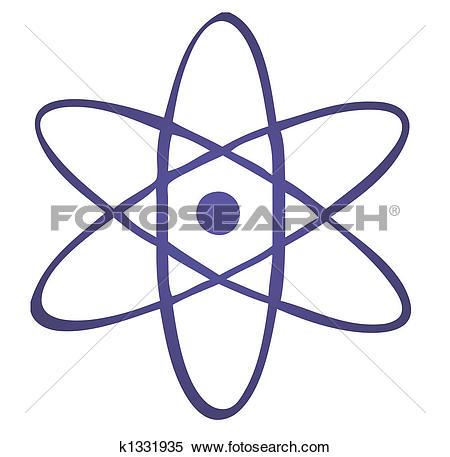 Stock Illustration of Atomic symbol k1331935.