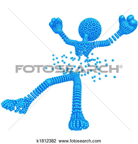 Clip Art of Atomized By Death Ray k1812382.
