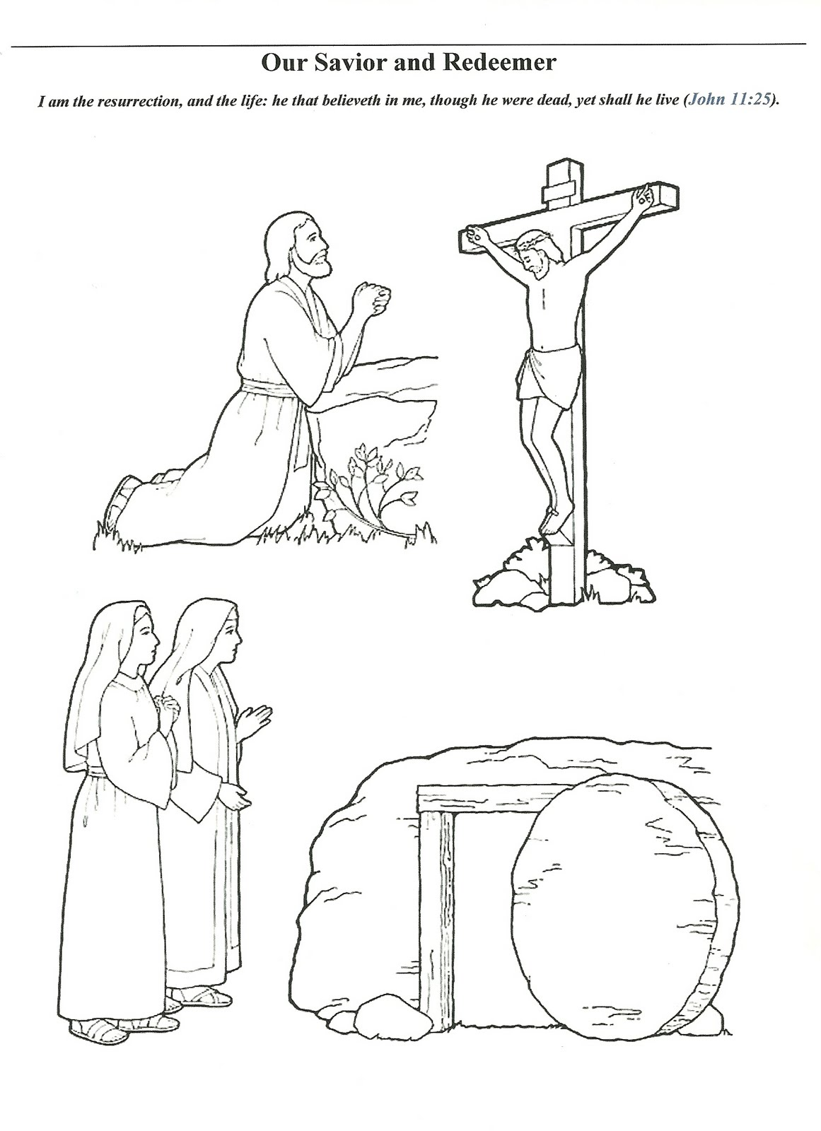 Atonement of Christ Clip Art.