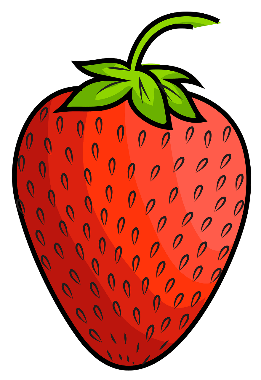 Strawberry clipart. Free download..
