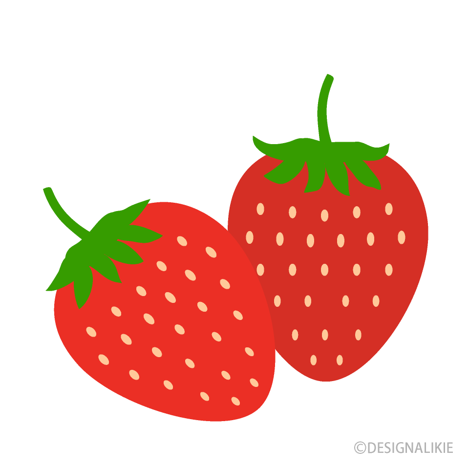 Free Strawberries Clipart Image|Illustoon.