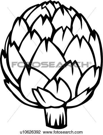Artichoke Clipart EPS Images. 543 artichoke clip art vector.