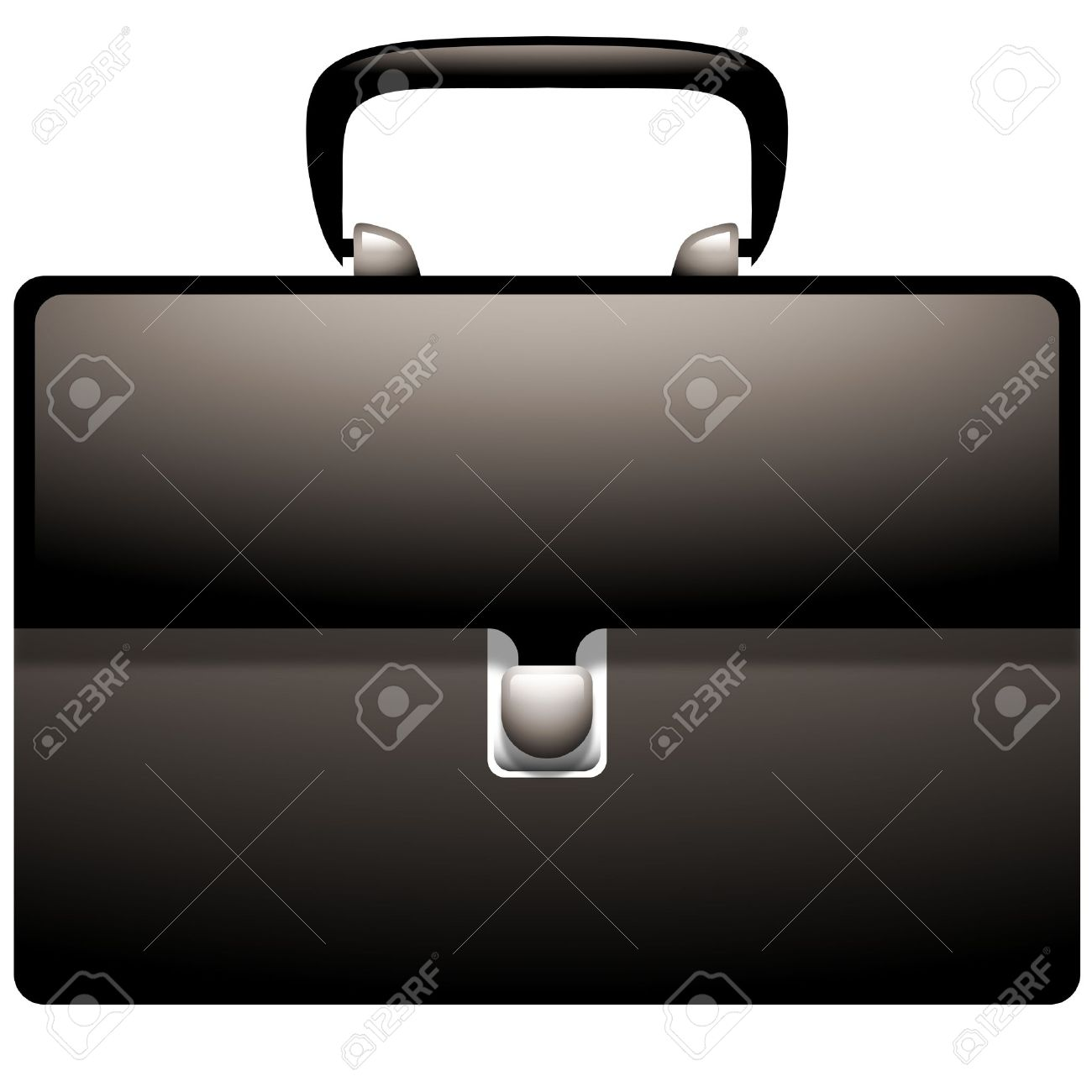 Attache Case Icon Royalty Free Cliparts, Vectors, And Stock.