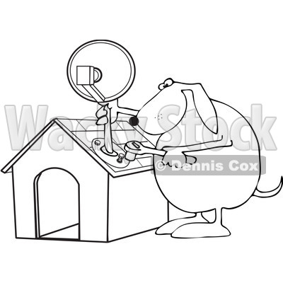 Tv Clipart by Dennis Cox.