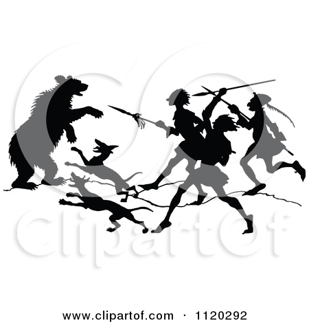 Clipart people attack.