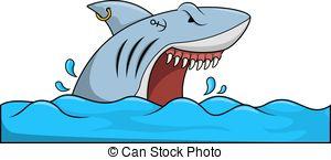 Shark attack Illustrations and Clipart. 1,064 Shark attack royalty.