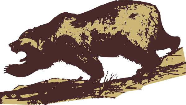 Attacking Bear clip art Free Vector / 4Vector.