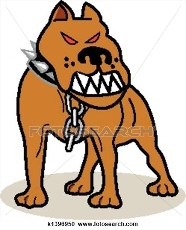 Animal attack clipart.