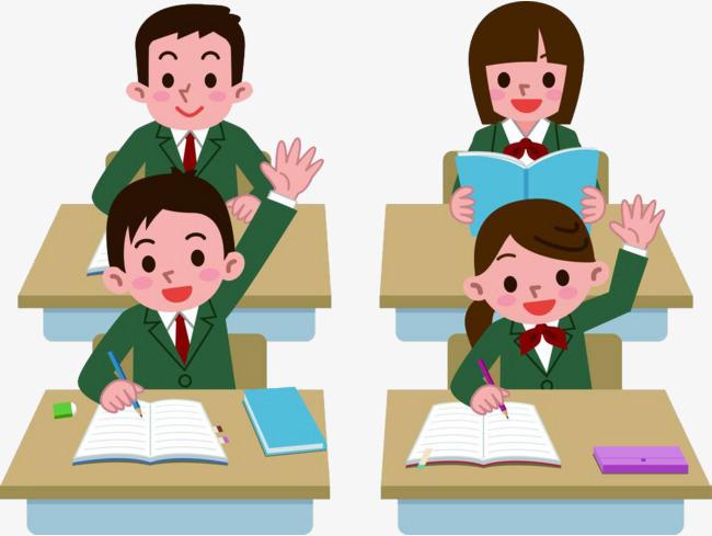 Attend Class Clipart.