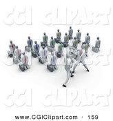 Royalty Free Student Stock CGI Designs.