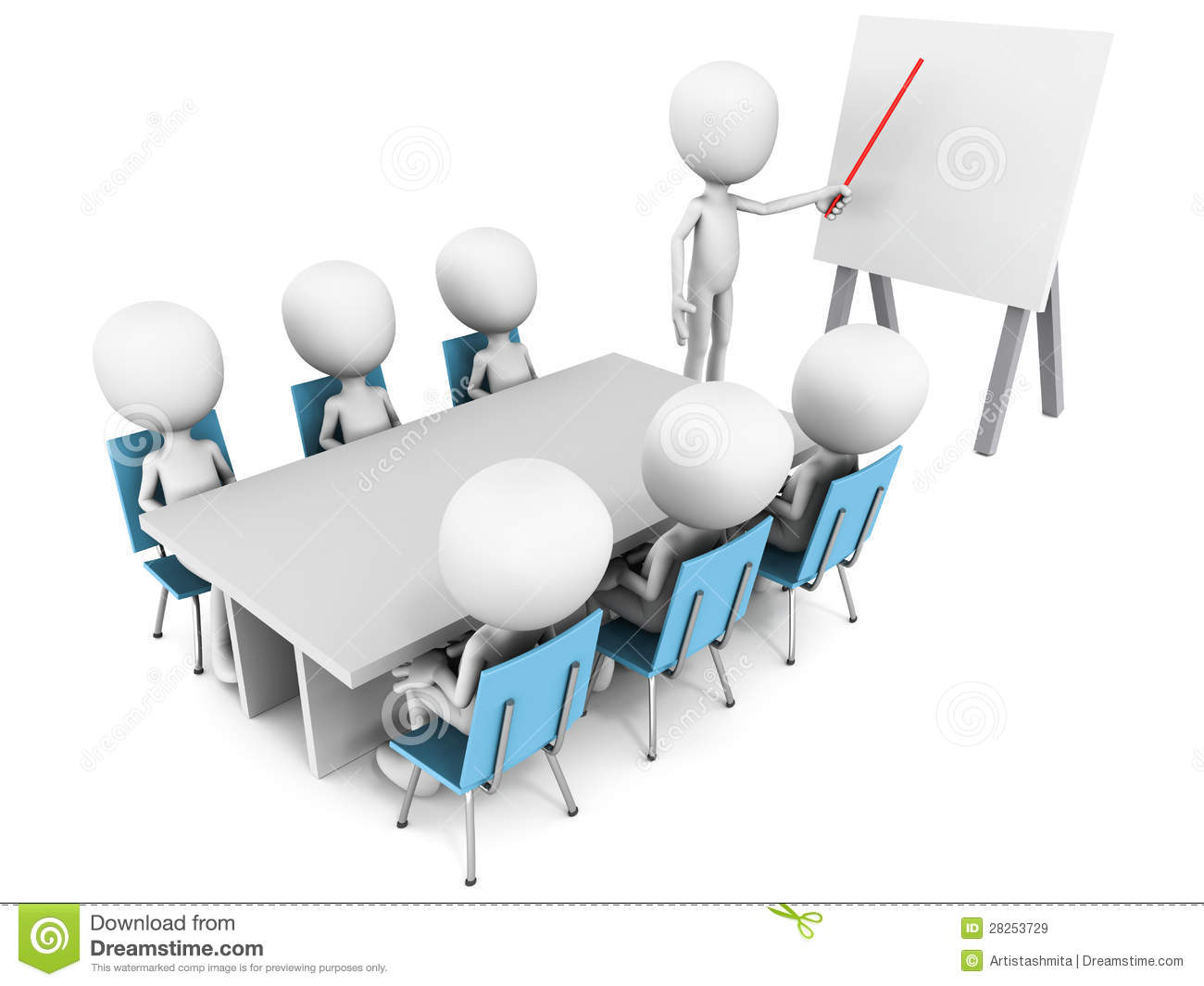 Attendees clipart.