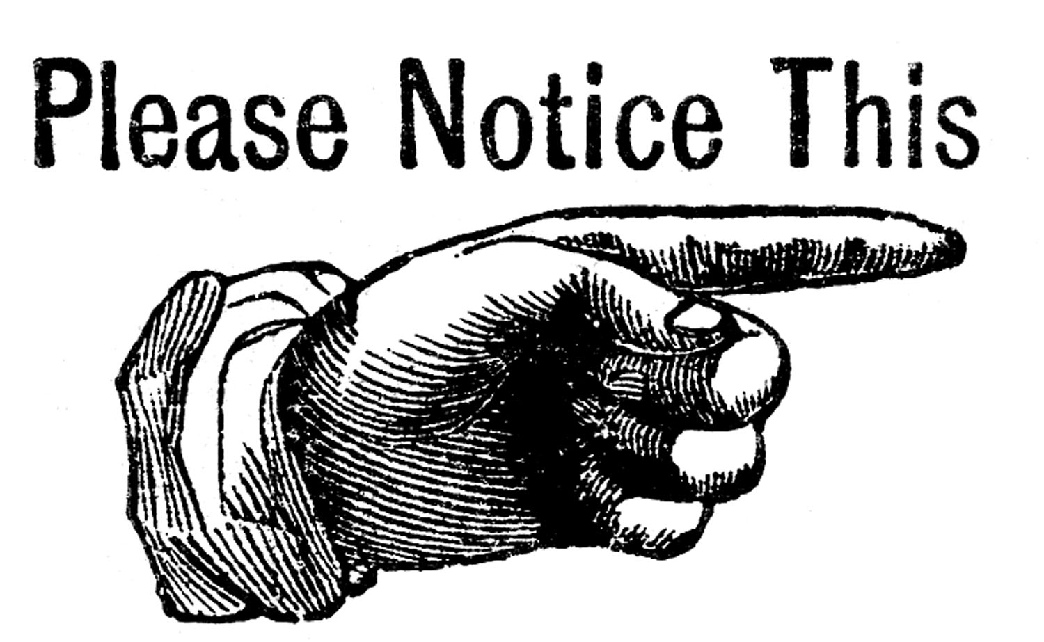 Attention Clip Art Free.