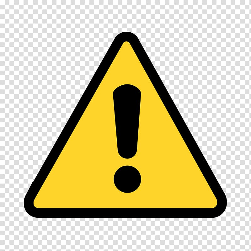 Caution logo, Warning sign Symbol , Yellow Triangle.