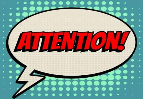 Attention clipart attention grab, Attention attention grab.