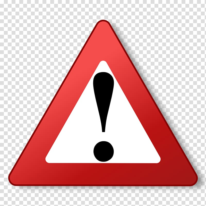 Warning sign , Warning Icons transparent background PNG.