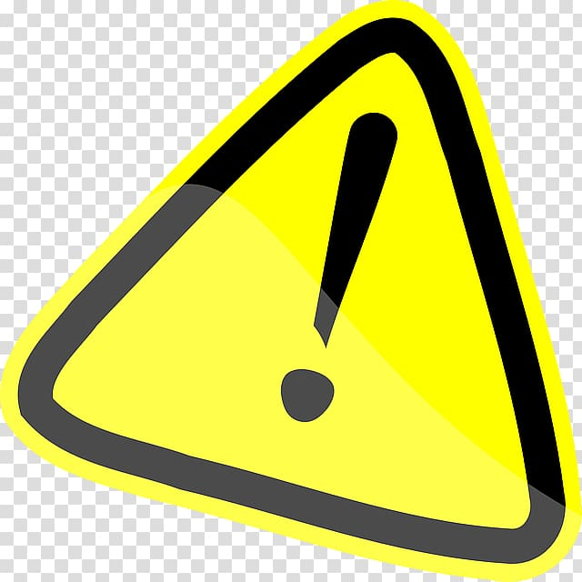 Attention transparent background PNG clipart.