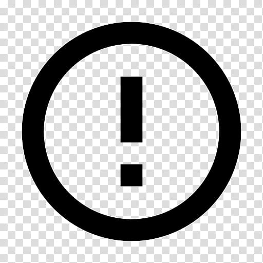 Computer Icons , attention symbol transparent background PNG.