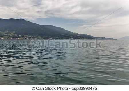 Bilder von alps, attersee, aus, See, österreicher, Ansicht.