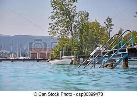 Bilder von attersee, baden, See, Zeit.
